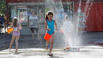 Sporttag der Kindergärten Wohlen