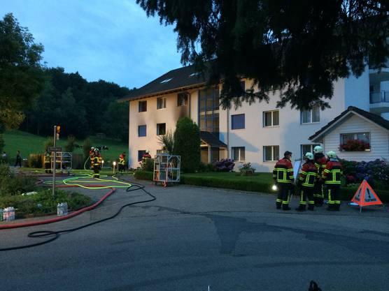 Am Sonntagabend musste die Feuerwehr in Büttikon ausrücken.
