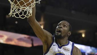 Basketball-Superstar Kevin Durant, hier noch im Dress der Golden State Warriors