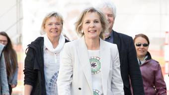 Brigit Wyss am Wahltag. (Archiv)