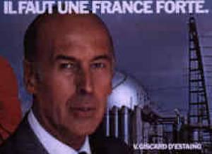 Valéry Giscard d'Estaing im Jahre 1981