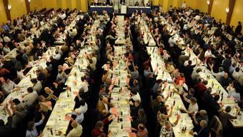 Ruhige Versammlung der Region. (Bild: Archiv)