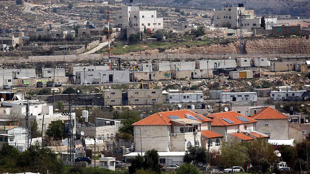 Das israelische Parlament verabschiedet ein Gesetz zum Abriss illegaler Häuser. (allgemeines Archivbild von israelischen Gebäuden)