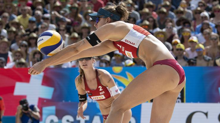 Nina Betschart und Tanja Hüberli haben auch in Gstaad das Podest verpasst.