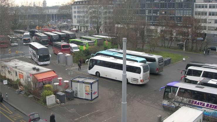 Der Carparkplatz beim Hauptbahnhof ist eine der letzten Bauland-Reserven Zürichs.
