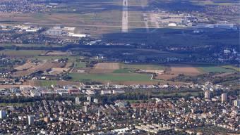 An der Grenze zu Frankreich haben sich in Allschwil viele Unternehmen angesiedelt.