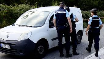 Die Fahndung macht auch an der spanisch-französischen Grenze (im Bild) nicht Halt.