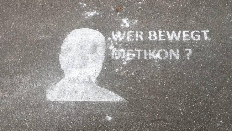 Wer bewegt Dietikon? Beim Umriss handelt es sich um Anton Kiwic.