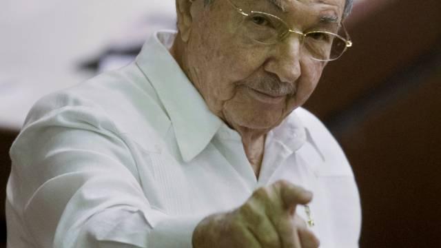Kubas Präsident Raul Castro