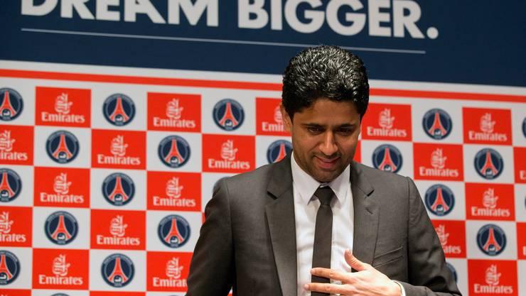 Träumt grösser, investiert grösser: Nasser Al-Khelaifi.