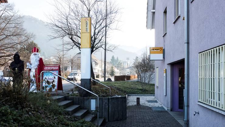 Auch der Santichlaus kann seine Päckli bald nicht mehr in Büsserach zur Post bringen.