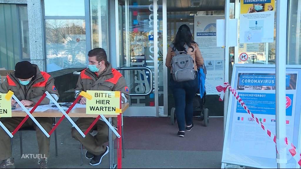 Zivilschutz hilft in Corona-Krise im Bürgerspital
