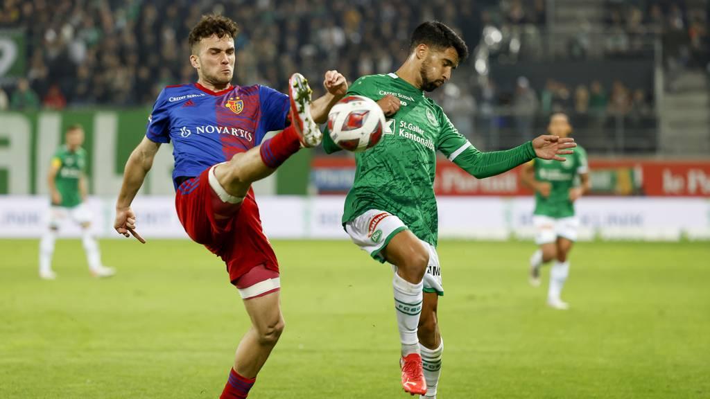 «Es ist zum Kotzen» – Der FC St.Gallen verliert mit 0:2 gegen den FC Basel