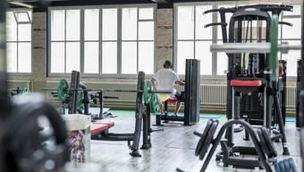 Im American Gym ist es momentan besonders ruhig.