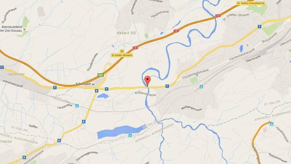 Tankstelle an der Zürcherstrasse in St.Gallen überfallen.