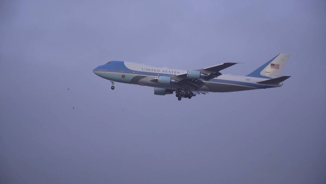 Spektakel für Planespotter: So einige Flugzeuge aus den USA landeten am Dienstagmorgen in Zürich