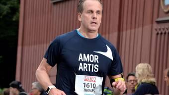 Bisher hat er nur Halbmarathons absolviert, aber Thomas Humbel fühlt sich bereit für die volle Distanz.