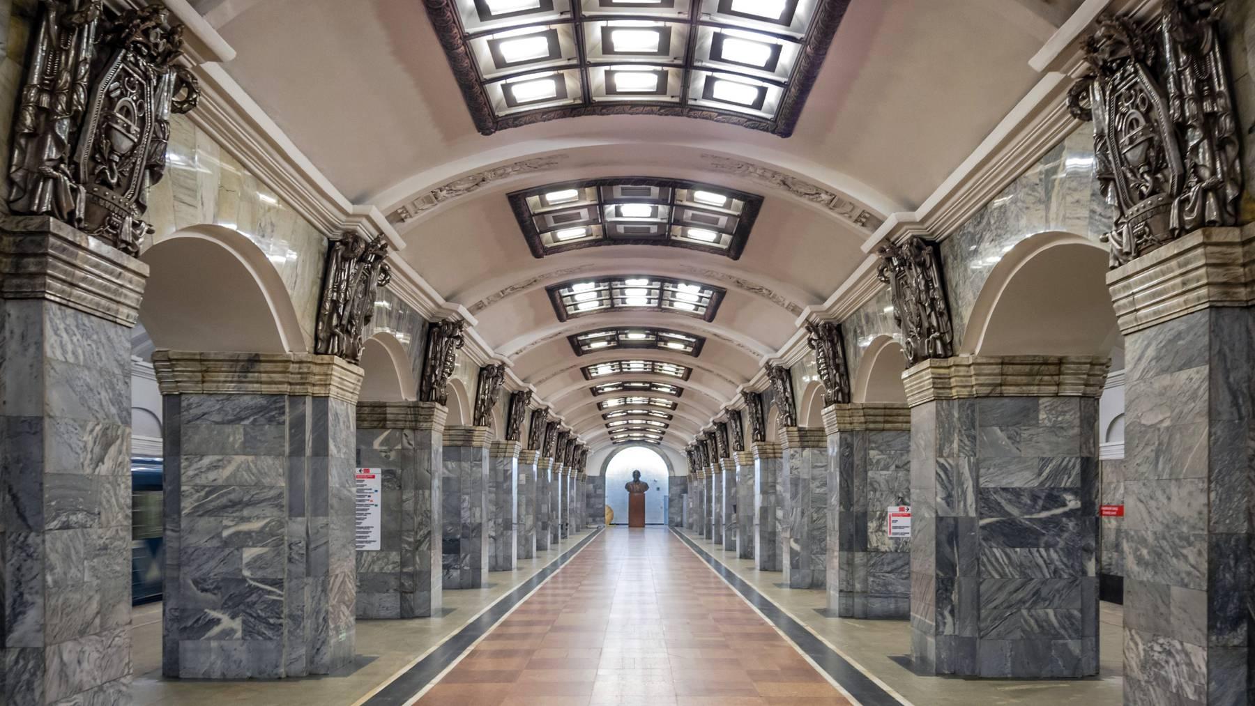 9 Tote bei Explosionen in der Metro St. Petersburg