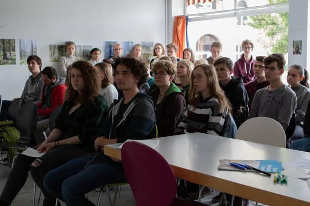 Rund 70 Leute nahmen an der Veranstaltung im Cultibo teil.