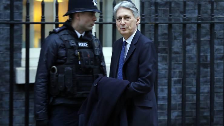 """""""Aus Europa hören wir nur Rückwärtsgerichtetes"""": der britische Finanzminister Philip Hammond. (Archivbild)"""