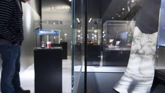 Das renovierte Musée historique de Lausanne (MHL) - hier eine Aufnahme vom 12. März 2018 - wird Ende April 2018 neu eröffnet.