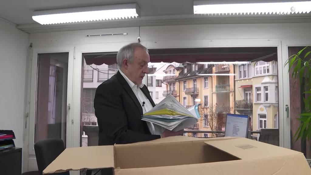 Nach 34 Jahren ist Schluss: Charles Vincent geht in Pension