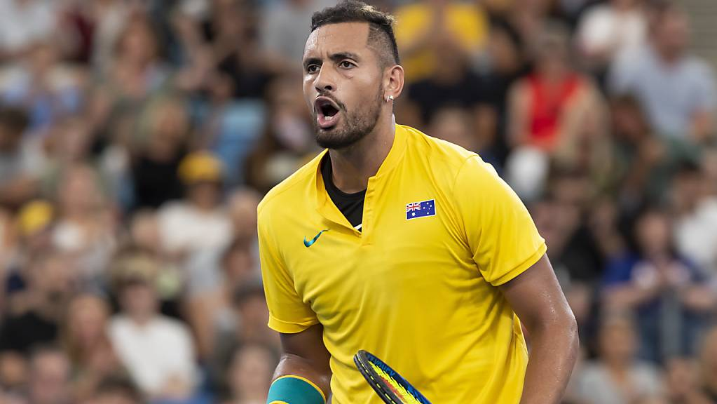 Nick Kyrgios steht mit Australien in den Halbfinals des ATP Cups