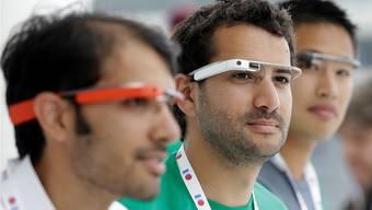 Sie tragen die Google-Brille schon heute