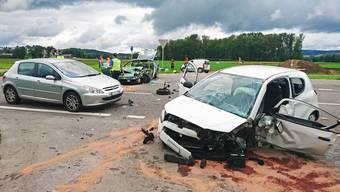 Unfall in Aristau (19.08.2017)