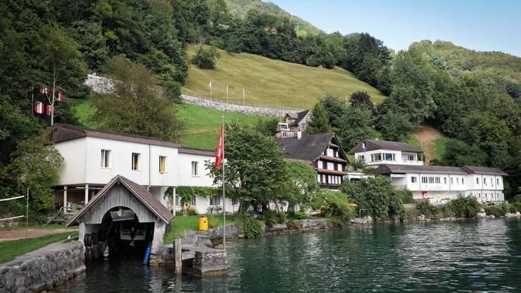 Die Rotschuo in Gersau.