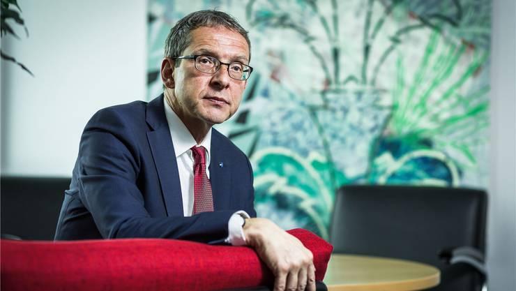 """Urs Hofmann: """"Der Regierungsrat ist regelmässig in Kontakt mit der GE"""""""