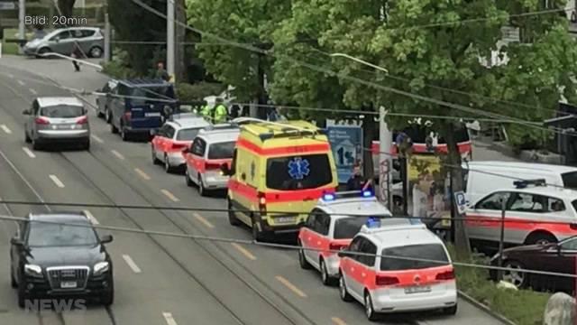 Polizei stürmt Wohnblock in Bümplitz
