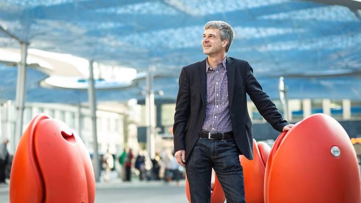 In der Pfadi hiess er «Adler»: Der Aarauer Stadtratskandidat Daniel Siegenthaler (54).