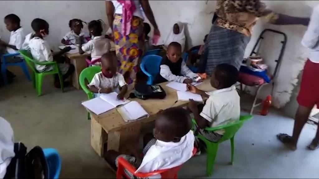 Hilfseinsatz der Familie Mathys in Kenia