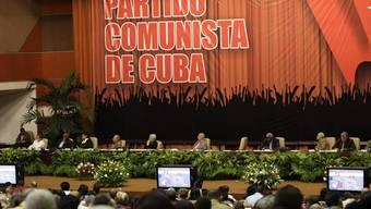 Blick in die Nationale Konferenz in Havanna