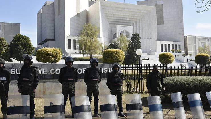 Das Oberste Gericht in Islamabad hat einen Berufungsantrag gegen den Freispruch der Christin Asia Bibi für unzulässig erklärt.