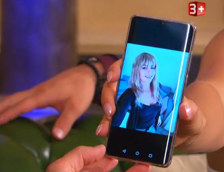 3Plus / Andrina tarnte sich bei den Geheimtreffen mit Kenny mit einer blonden Perücke