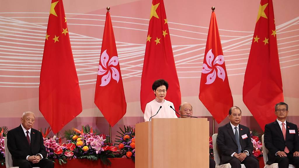 Sicherheitsgesetz: Hongkong begeht Jahrestag der Rückgabe an China