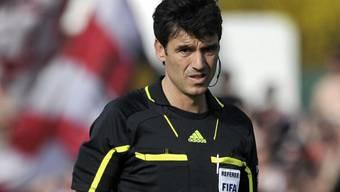 Massimo Busacca pfeift heute das Spiel Österreich - Deutschland.