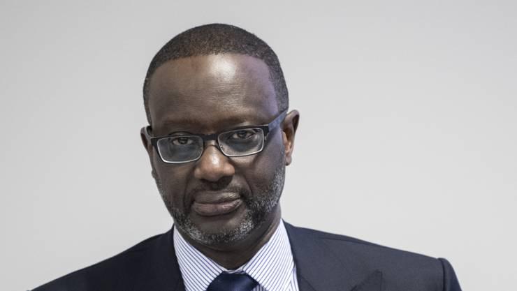 Der frühere Chef der Credit Suisse, Tidjane Thiam, hat 2019 weniger verdient. (Archiv)