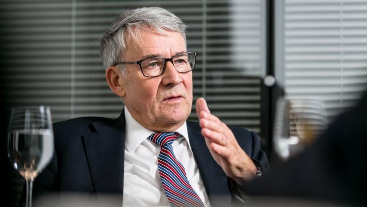 Urs Schwaller ist Präsident des Verwaltungsrat der Post.