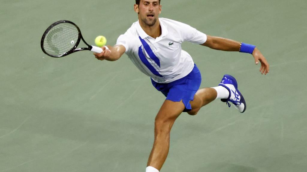 Novak Djokovic liess sich von Roberto Bautista-Agut alles abverlangen