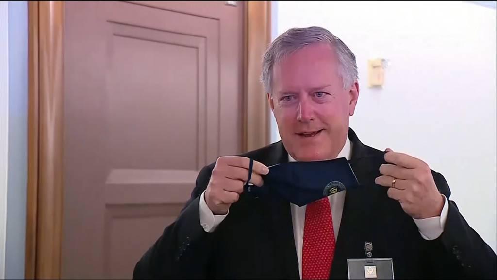 Trumps Stabschef Mark Meadows mit Coronavirus infiziert