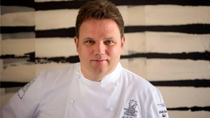 Andy Zaugg als Chefkoch des Restaurants Zum Alten Stephan. (Archiv)
