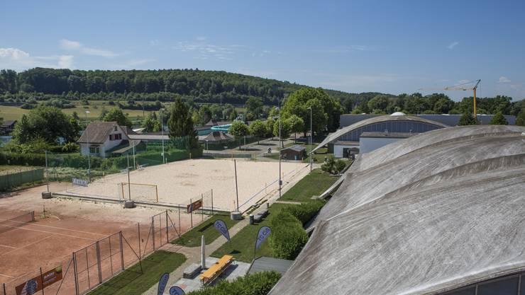 Das CIS-Sportzentrum Solothurn 2017.