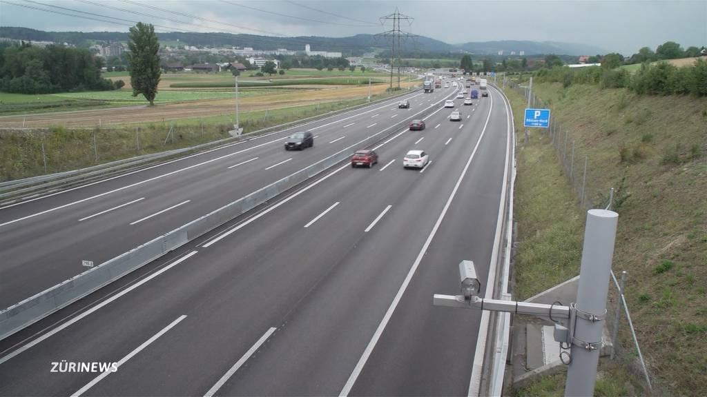 Kameras beim Gubristtunnel sollen Verkehrschaos entschärfen
