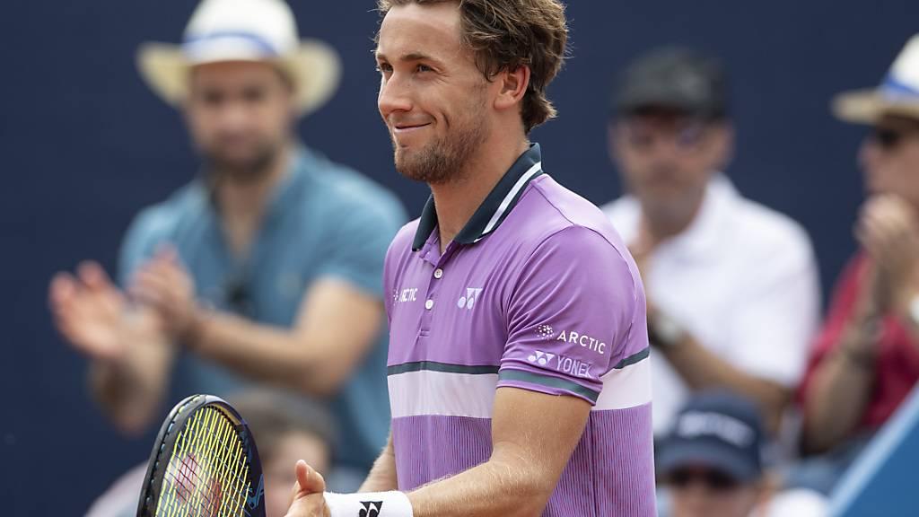 Casper Ruud gewinnt das Swiss Open - Schweizer Erfolg im Doppel
