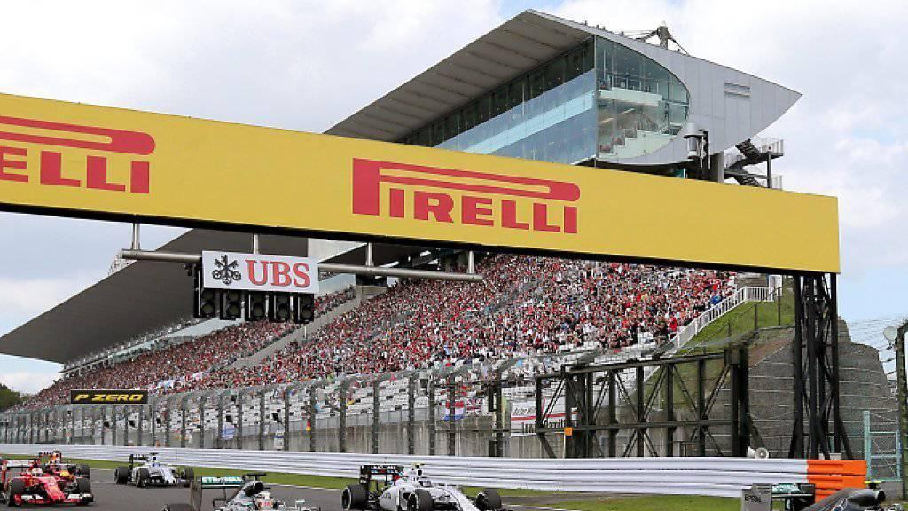 21 Mal heulen 2016 die Motoren der Formel 1