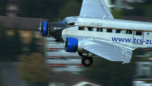 Die Ju-52-Flieger aus Dübendorf am Boden und in der Luft