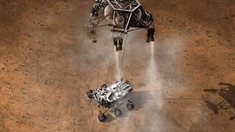 Das sind die ersten Bilder von «Curiosity»